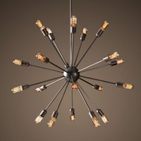 Sputnik Filament Chandelier Large |  | Restoration Hardware