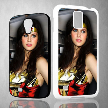 alexandra daddario wonder woman Samsung Galaxy S3 S4 S5 (Mini) S6 S6 Edge,Note 2 3 4, HTC One S X M7 M8 M9 Cases