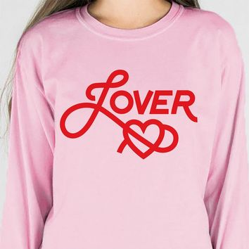 Lover Valentine's Day Long Sleeve Tee