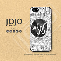 5sos iPhone 5 Case, iPhone 5c Case, iPhone 4 Case, iPhone 5s Case, iPhone 4s Case 5sos Phone Covers - J133