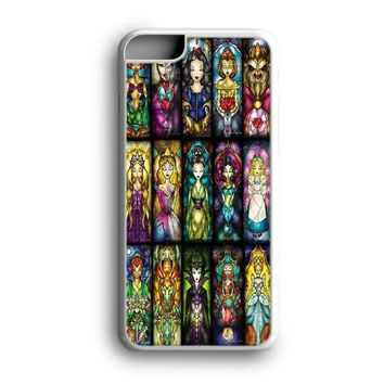 Awesome Black Friday Offer Princess Character From Disney Stained Glasses iPhone Case | Samsung Case