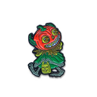 Pumpkin Head Enamel Pin