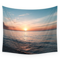 Society6 Hawaii Sunset Wall Tapestry
