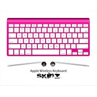 The Solid State Hot Pink Skin For The Apple Wireless Keyboard