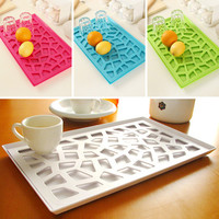 Olin vanzlife kitchen drain and cherry plastic compartment tray shelf storage rack Drain fruit plate