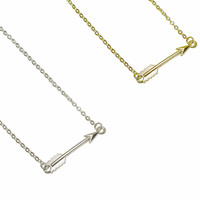 Trease Bridesmaid Gifts Charm Arrow Necklace, Bridesmaid Jewelry