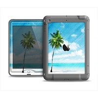 The Paradise Beach Palm Tree Apple iPad Mini LifeProof Nuud Case Skin Set