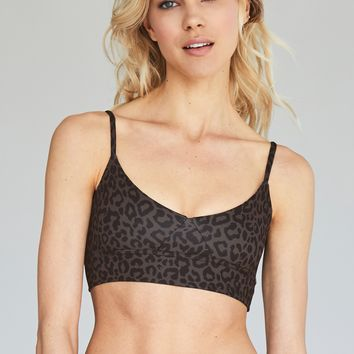 Olympia Activewear Daphne Bra in Leopard