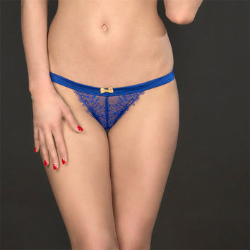 Maison Close: Villa Satine Bleu String Thong