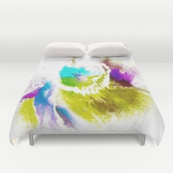 VIOLA WOO COLLECTIONS Duvet Cover by violajohnsonriley