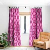 Agate Inspired Watercolor 08 Blackout Window Curtain Viviana Gonzalez