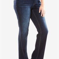 Slim Bootcut Jean, The Curvy Collection | Plus Size View All Jeans | Woman Within