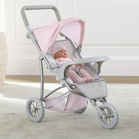 Single Doll Jogging Stroller | Pottery Barn Kids