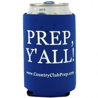 Prep, Y'all! Koozie in Blue by Country Club Prep