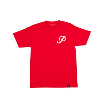 CLASSIC P TEE - RED