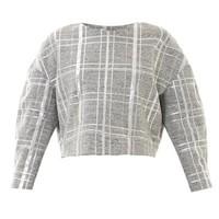 Beroe metallic plaid sweatshirt | Elizabeth and James | MATCHE...