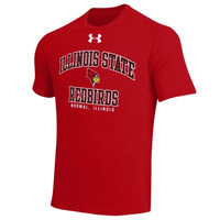 Illinois State Redbirds Under Armour School Mascot Tech T-Shirt – Red