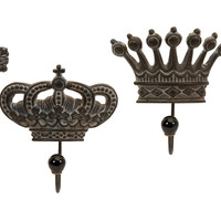 Regent's Crown Hooks - Set of 4