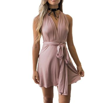 Summer Multiway Dress Sexy Women Convertible Dresses Infinity Wrap Robe Femme Bandage Beach Club Party Dresses Vestidos