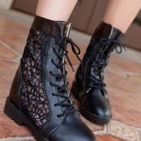 Black Boots from BAIANSY