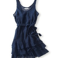 Lace Shift Dress - Aeropostale