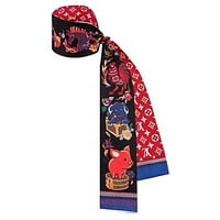 LV 2019 new women's versatile fashion multi-purpose small scarf #1