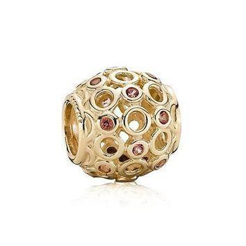 PANDORA Gold Celtic Circles Charm