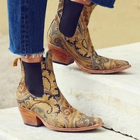 Free People Jacquard Lenni Ankle Boot