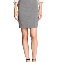 Banana Republic Womens Factory Houndstooth Pencil Skirt
