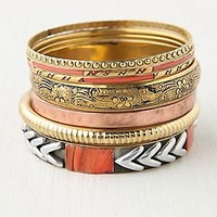 Tropical Hard Bangle Set at Free People Clothing Boutique