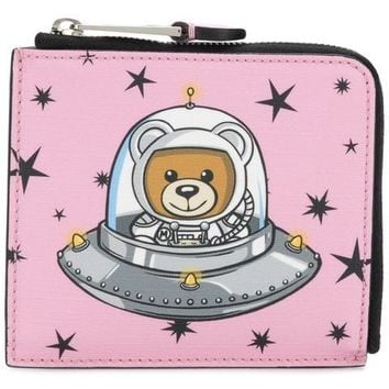 Moschino Space Teddy Bear Wallet - Farfetch