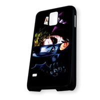 Batman And Joker Face And Weapon Samsung Galaxy S5 Case