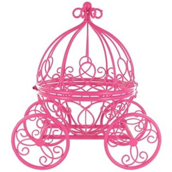 Hot Pink Princess Carriage Metal Table Top Decor | Shop Hobby Lobby