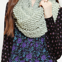 Poodle Boucle Eternity Scarf
