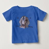 Cute Baby Goat Cartoon Portrait Infant T-shirt