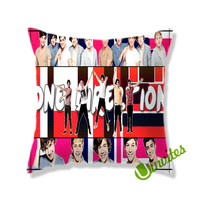 One Direction Square Pillow Cover