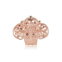 Aida Bergsen Gold Lace Fan Ring | Stone & Strand