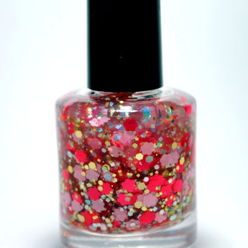 Ring Around the Rosies - Handmade nail polish full bottle