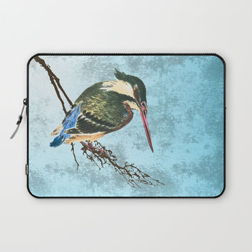 Watching the river Laptop Sleeve by anipani