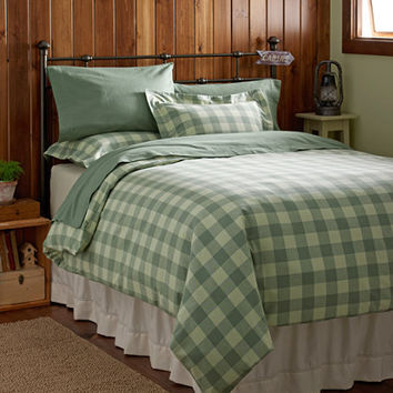 Ultrasoft Flannel Comforter Cover, Buffalo Plaid: Comforter Covers | Free Shipping at L.L.Bean