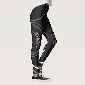 """Stacey"" Leggings (with designer signature)"
