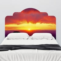 Paul Moore's Sunrise Over Grand Canyon Headboard wall decal