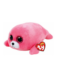 TY Beanie Boos Medium Pierre The Pink Seal Plush Toy