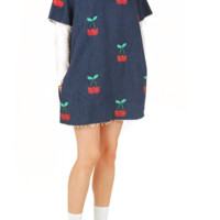 Lazy Oaf Cherry Tunic Dress