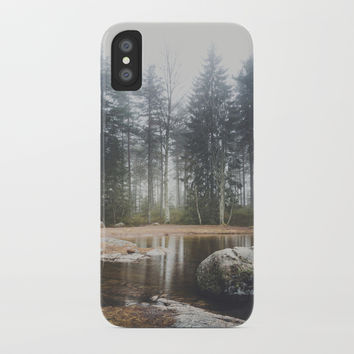 Moody mornings iPhone Case by happymelvin