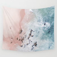 sea bliss Wall Tapestry by Ingrid Beddoes