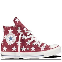 Converse - Chuck Taylor Stars - Hi - Red/White
