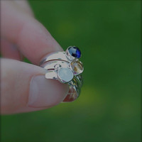 Custom order for Bill Fairy Tale Ring Sterling by KittyStoykovich