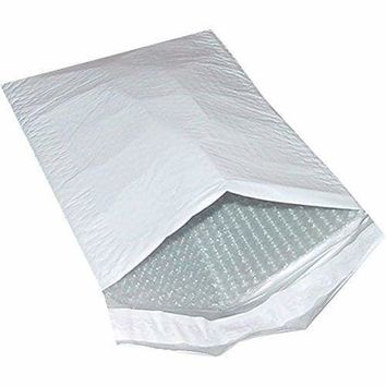 200 #000 Poly Bubble Padded Envelopes Mailers 4 X 8