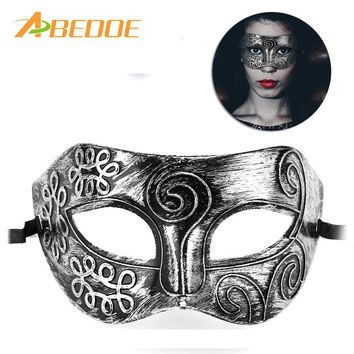 ABEDOE Vintage Retro Mask Men Greco-Roman Gladiator Masquerade Masks for Carnival Halloween Cosplay Costume Party Ball